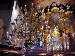orgel kaarslicht kerstconcert
